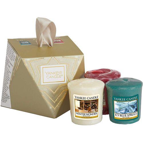 Yankee Candle Gift Set:  Stocking Filler (3 Votives)