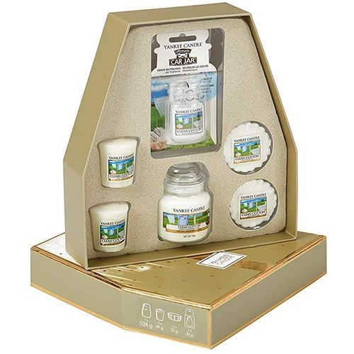 Yankee Candle Gift Set: Clean Cotton