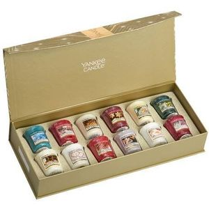Yankee Candle Gift Set: 12 Festive Votives