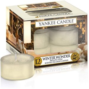 Yankee Candle Tea Lights 12 Pack - Winter Wonder