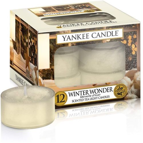 Yankee Candle Tea Lights 12 Pack - Winter Wonder