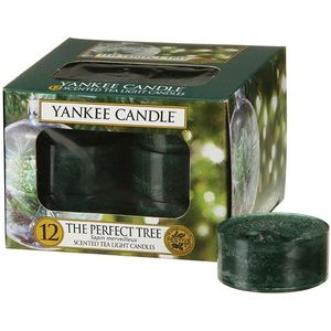 Yankee Candle Tea Lights 12 Pack - The Perfect Tree