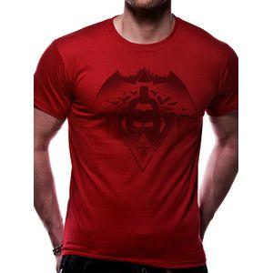 Mens Batman Vs Superman T-Shirt (Small)