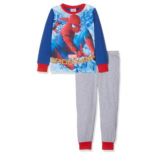 Boys Spiderman Pyjamas Age 7-8 Years