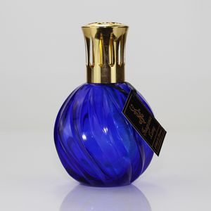 Ashleigh & Burwood Fragrance Lamp Dark Blue Glass