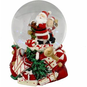 Christmas Musical Snowglobe - Santa