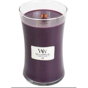Woodwick Large Jar Candle - Fig