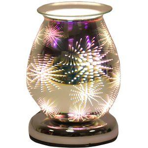 Aroma Electric Wax Melt Burner: Oval 3D (Firework)