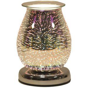 Aroma Electric Wax Melt Burner: Oval 3D (Burst)