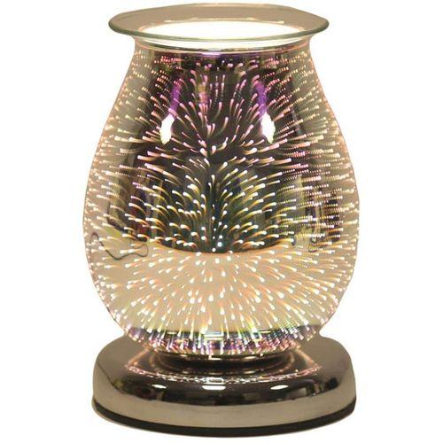 Aroma Electric Wax Melt Burner: Oval 3D (Burst) AR1267