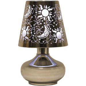 Lamp Wax Melt Burner - Moon