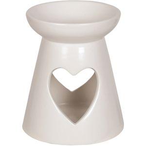 Aroma Wax Melt Burner: Heart