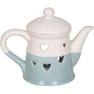 Heart Teapot Burner (blue)