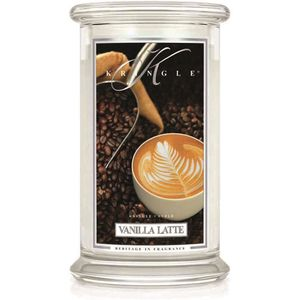 Kringle Candle Large Jar 22oz - Vanilla Latte