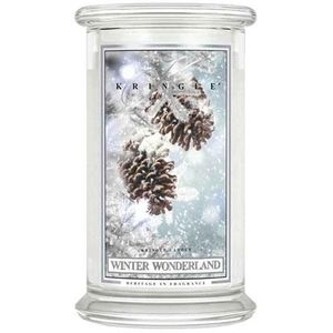 Kringle Candle Large Jar 22oz - Winter Wonderland