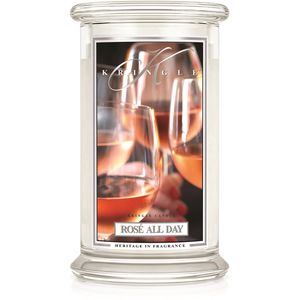 Kringle Candle Large Jar 22oz - Rose all Day