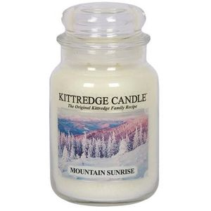 Kittredge Candle Large Jar 23oz - Mountain Sunrise
