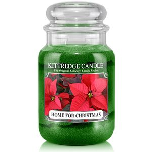 Kittredge Candle Large Jar 23oz - Home For Christmas