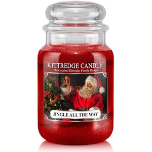 Kittredge Candle Large Jar 23oz - Jingle All The Way