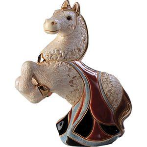 De Rosa White Horse Figurine