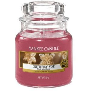Yankee Candle Small Jar Glittering Star