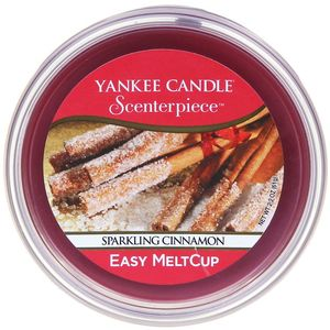 Yankee Candle Scenterpiece Melt Cup Sparkling Cinnamon