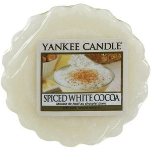 Yankee Candle Wax Melt - Spiced White Cocoa