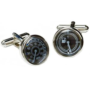 Speedo & Petrol Gauge Cufflinks