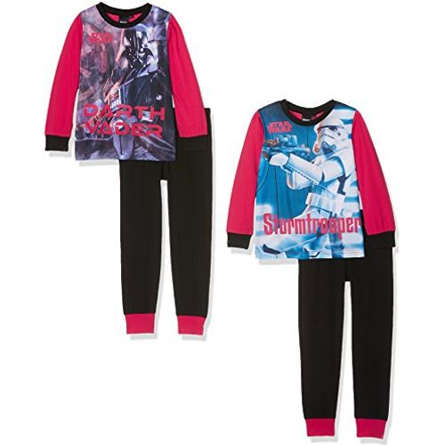 Boys Star Wars Pyjamas Pack of Two Age 7-8 Years