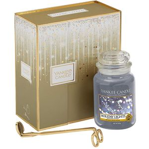 Yankee Candle Gift Set: Holiday Lights (L Jar & Wick T)