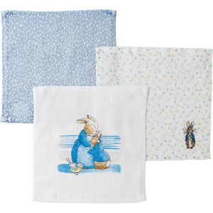 Beatrix Potter Peter Rabbit Baby Face Cloths (Set of 3)