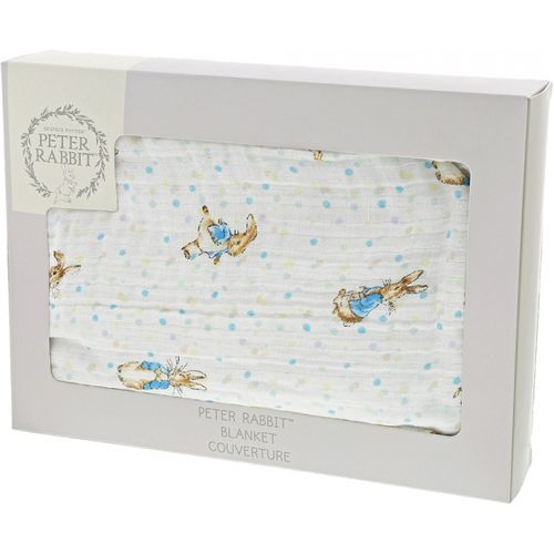 Beatrix Potter peter Rabbit Baby Blanket  A29644