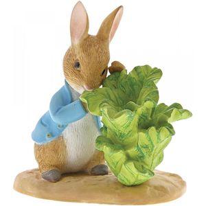 Beatrix Potter Peter Rabbit Figurine - Peter Rabbit with Lettuce