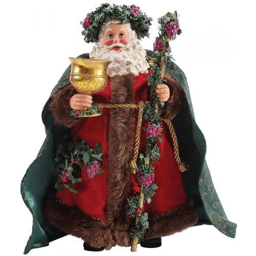 Possible Dreams Santa Figurine - Wassail 6003420