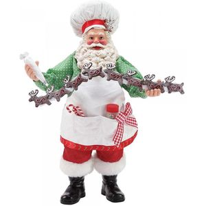 Possible Dreams Santa Figurine - Tiny Reindeer Cookies
