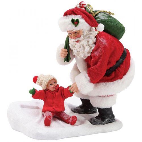 Possible Dreams Santa Figurine - Snow Angel 6003446
