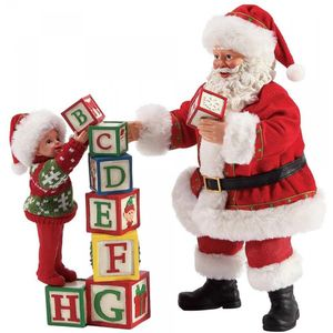 Possible Dreams Santa Figurine - Building Blocks