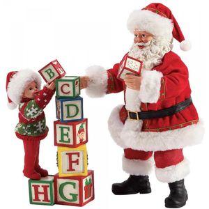 Possible Dreams Santa Figurine - Building Blocks