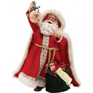 Possible Dreams Santa Figurine - Around the World