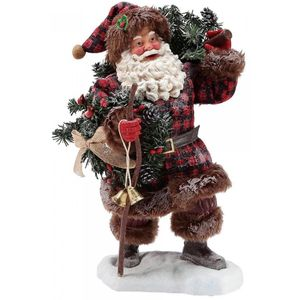 Possible Dreams Santa Figurine - Woodsmans Gifts