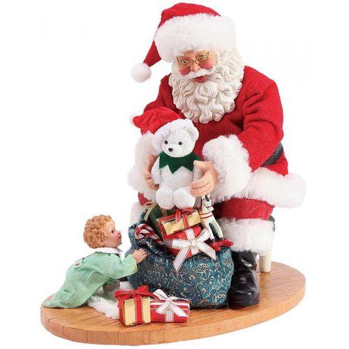Possible Dreams Santa Figurine - Christmas Surprise 6003845