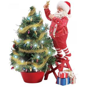Possible Dreams Santa Figurine - Climbing to the Top