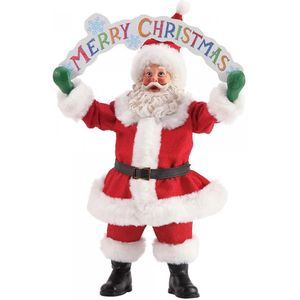 Possible Dreams Santa Figurine - Merry Christmas