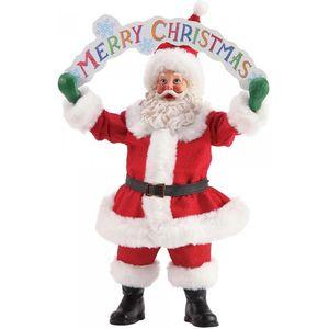Possible Dreams Santa Figurine - Merry Christmas