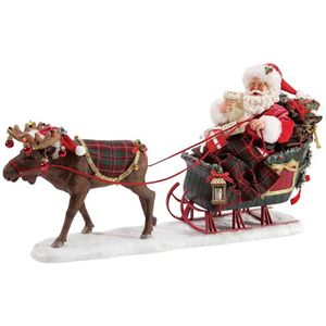 Possible Dreams Santa Figurine - Christmoosetime
