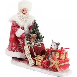 Possible Dreams Santa Figurine - Snow Buddies