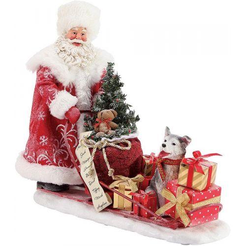 Possible Dreams Santa Figurine - Snow Buddies 6003857