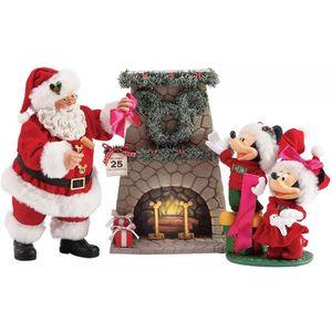 Possible Dreams Disney Figurine - Minnie Mickey Wreath