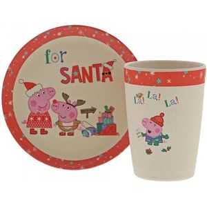 Peppa Pig Organic Bamboo Christmas Eve Set