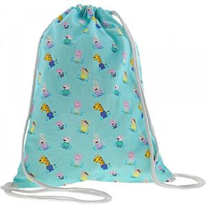 Peppa Pig Cotton Drawstring Bag 40cm x 30cm